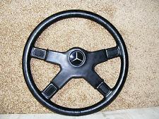 Brabus Silberpfeil Lederlenkrad Sportlenkrad 390mm Mercedes W107 W123 W124 W129
