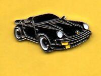 Pin's Pins lapel Pin Auto Car Voiture PORSCHE 911 Noire 1980' Editions Atlas