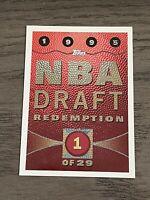 1995-96 Topps NBA Draft Expired Redemption #1 (Joe Smith) Warriors (A)