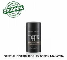 Toppik Hair Building Fiber 3G DARK BROWN (OFFICIAL DISTRIBUTOR MALAYSIA)