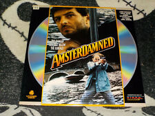 AmsterDamned Laserdisc LD Vestron Huub Stapel Dick Maas Free Ship $30 Orders