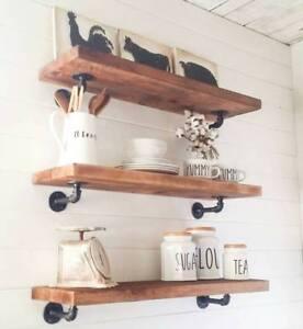 Farmhouse shelves,Floating shelves, Wood shelves, Floating shelf, Wood Shelf