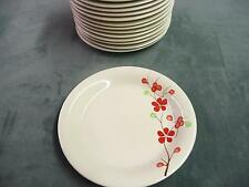 "Set of 15 Pier 1 hand painted china 7 1/2"" dinner plates dishes home kitchen eat"