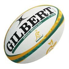 Midi Gilbert Official Wallabies Replica Rugby Ball - 10 Inch