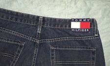 TOMMY HILFIGER Men's Freedom Flag Patch Jeans Denim 32 x 33