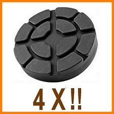 4 X bloc de caoutchouc D. 100 mm. pour Pont elevateur Ravaglioli-Italie -tampons