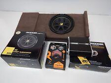 2014 to 2016 GMC Sierra Crewcab Box Enclosure SUB Subwoofer Amp wiring tan brown