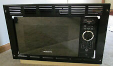 RV Motorhome Greystone Black Built-in Microwave Oven 0.9 Cu Ft Trim Frame