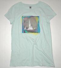 DC Shoes Womens Zenus Cotton Tee t Top Shirt T-shirt Medium