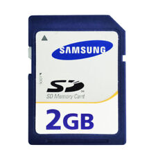 Samsung 2GB SD Standard Memory Card Blue Secure Digital 2GB Genuine For Cameras
