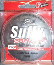 tresse sufix gravity 2 100m 08/100 2.7kg orange