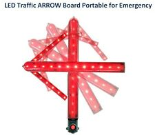 LED Traffic Arrow Light Simple Portable Battery Type For Emergency & Induction
