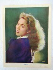 """Vintage Sitara Hindi Movie Actress Handbill Poster Liberty Art Production Rare""""F"""
