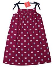 HANNA ANDERSSON Girls Pillowcase Dress Patchwork Plaid Print 130 EU 8 NWT kg
