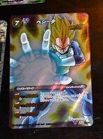 Dragon ball z gt dbz miracle battle carddass card prism card sr 39//64 super rar