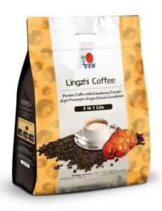 1 Pack DXN Lingzhi 3 in 1 Lite Ganoderma Coffee 20 Sachets ( EXPRESS SHIPPING )