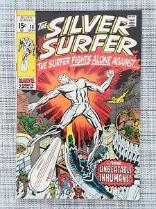 Silver Surfer #18, FN- 5.5, Inhumans