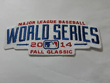 """MLB WORLD SERIES """"2014""""  Game Jersey PATCH New"""
