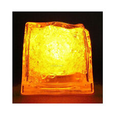 Yellow Litecubes (24 Pack) Light Up LED Ice Cubes 2 Dozen
