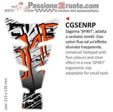 Paraserbatoio Print tankpad Monster rosso moto tank pad red