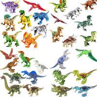 Dinosaur Rex Tyrannosaurus Jurassic World Park 30Pcs Minifigures Building LEGO