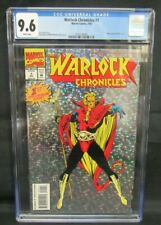 Warlock Chronicles #1 (1993) Prism Foil Cover Marvel CGC 9.6 CE507