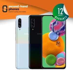 Samsung Galaxy A90 SM-A908B 5G (2019) - White/Black - UNLOCKED - Pristine