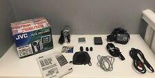 JVC Digital Video Camera GR-DX100EK With Original Accessories Plus Extras