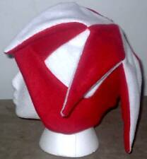 NEW fleece jester snowboard hat- red and white