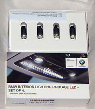 BMW Genuine LED Four Interior Light Package Bulb Upgrade Kit All Current Models