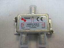 TRIAX 2 VIE F-Type 5-2400 MHz SPLITTER SCS 2 - 349802