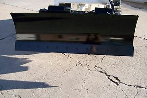 "new heavy  66""' four way dozer blade plow for skid steer fits John Deere Bobcat"