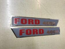 Ford 4000 Hood Decals 64-68 Model
