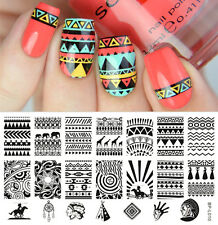 Nail art Stamping plate. BPL-010.   Born pretty original plate. Stamp manicure.