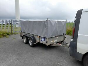 Ifor Williams GD105 box plant general purpose car trailer and cover 2700kg