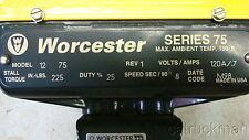 "120V Worcester Valve Actuator w/ 1/2"" SS Tubing Valve  6000 psi  (unused)"