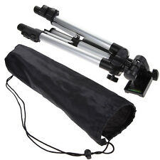 Flexible Portable Aluminum Tripod Stand w/ Bag For Camera Camcorder DV Recorder