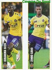 333-334 SECK - ZINHO GANO KV.WAASLAND-BEVEREN STICKER PRO LEAGUE 2017 PANINI