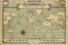 FANTASTIC BEAST AND WHERE TO FIND THEM POSTER Mappa Munde Poster 24x36