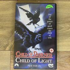 Child Of Darkness Child Of Light VHS Big Box Horror Ex-Rental. Rare