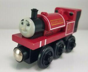 Thomas & Friends Wooden Railway SKARLOEY Train Engine Car EUC 2003