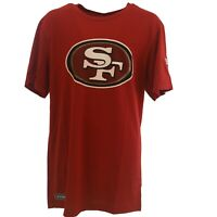 San Francisco 49ers Nike Official NFL Apparel Adult Size Athletic T-Shirt New