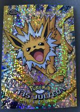 More details for pokemon topps chrome series 2 sparkle chrome #135 jolteon