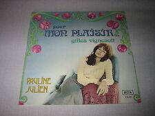 PAULINE JULIEN 33 TOURS FRANCE GILLES VIGNEAULT