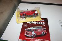 /*/  collection VEHICULES ET CAMIONS DE POMPIER N° 64  L'AUTOPOMPE   neuf