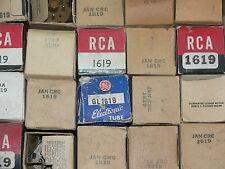 1 NOS 1619 Tube - Metal - RCA/GE/KEN RAD - USA