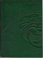 1946 John Marshall High School Yearbook Rochester NY - THE JOHN QUILL