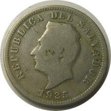 elf El Salvador 5 Centavos 1925 (S) San Francisco Mint