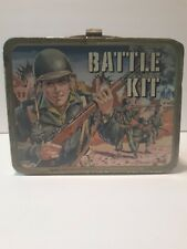 1965 - Battle Kit Lunch Box - No Thermos - King Seeley Thermos Co. - Lb10