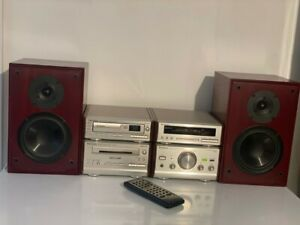 Technics HiFi System SE-HD81, 5 CD Changer, Cassette, AMP + Heybrook Speakers